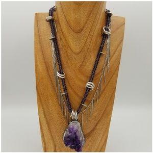 Jewelry - Outstanding Amethyst statement piece